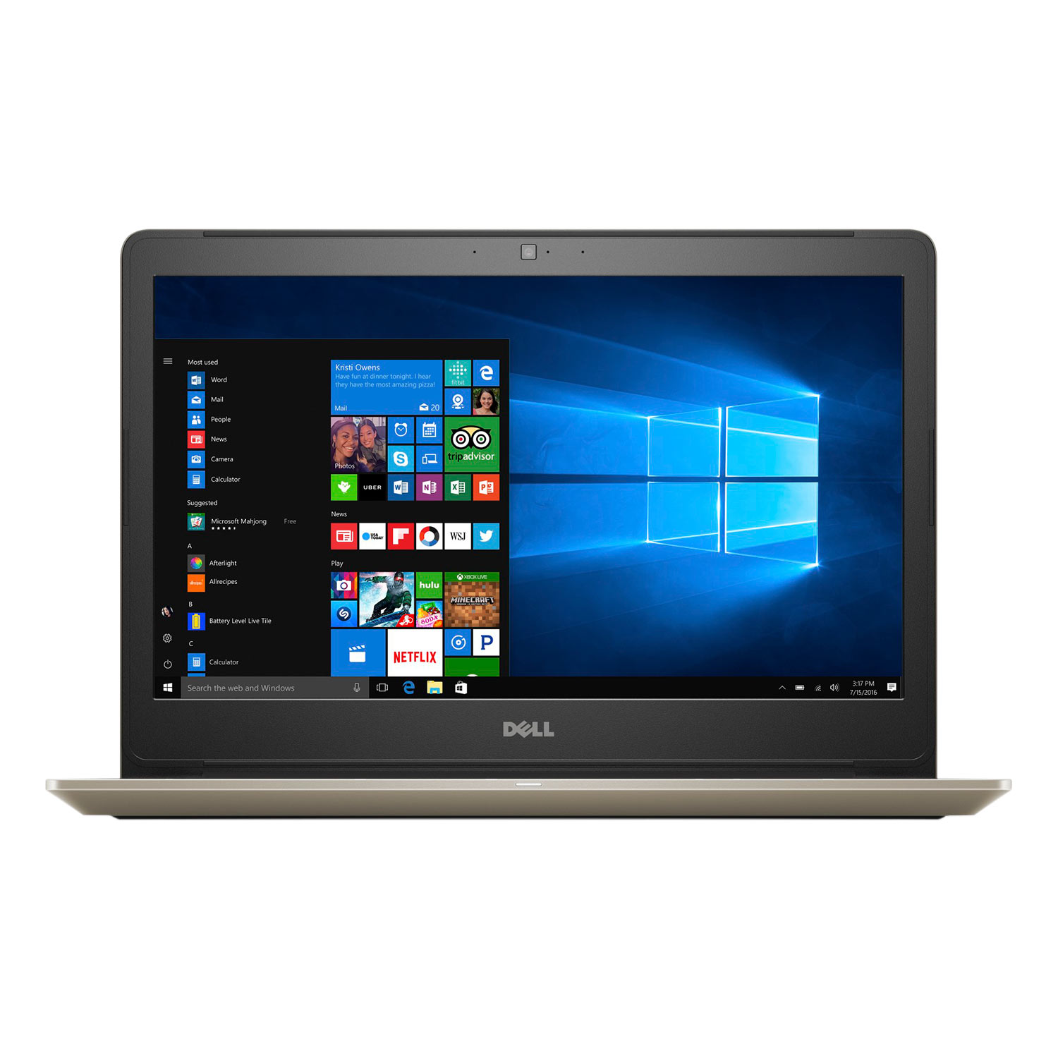 Laptop Dell Vostro V5468 V5468B Core i5-7200U/Win 10