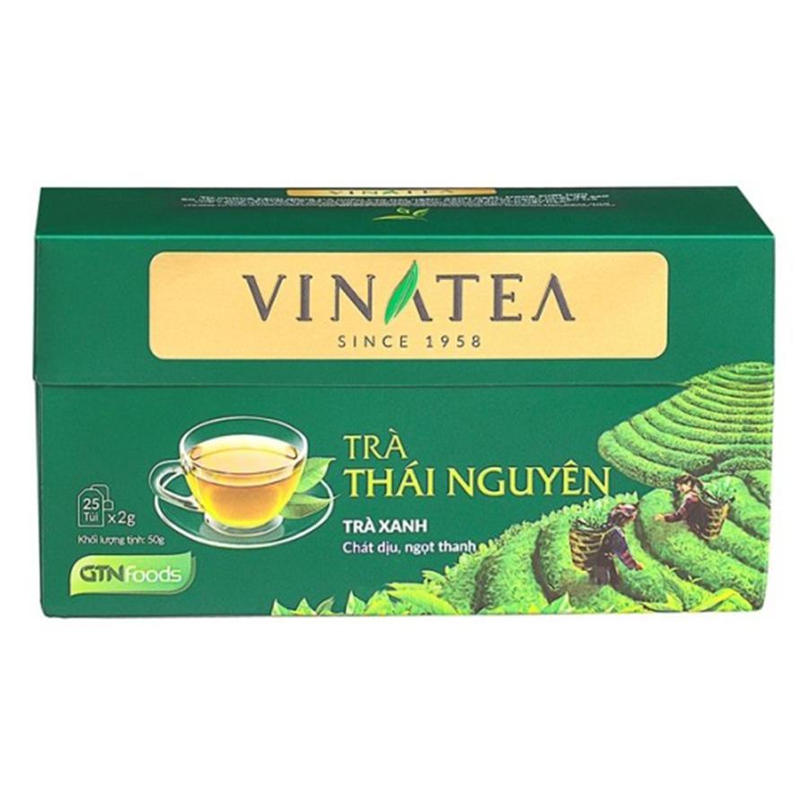 Trà Túi Lọc Vinatea Thái Nguyên (50g)