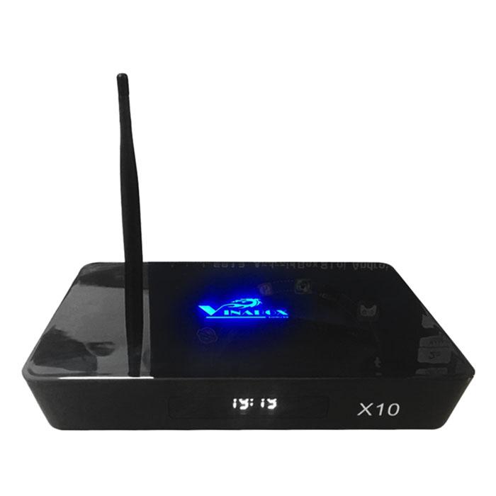 Android TV Box Vinabox X10 - Đen - Chính Hãng