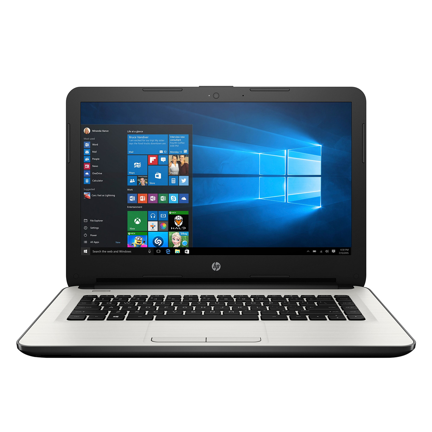 Laptop HP 14-AM032TX X1H07PA Core i7-6500U