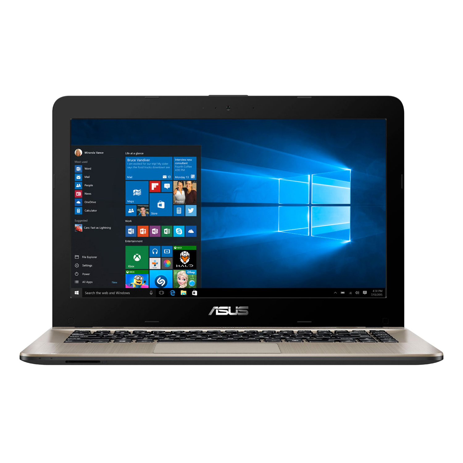 Laptop Asus X441UA-WX016D Core i3-6100U