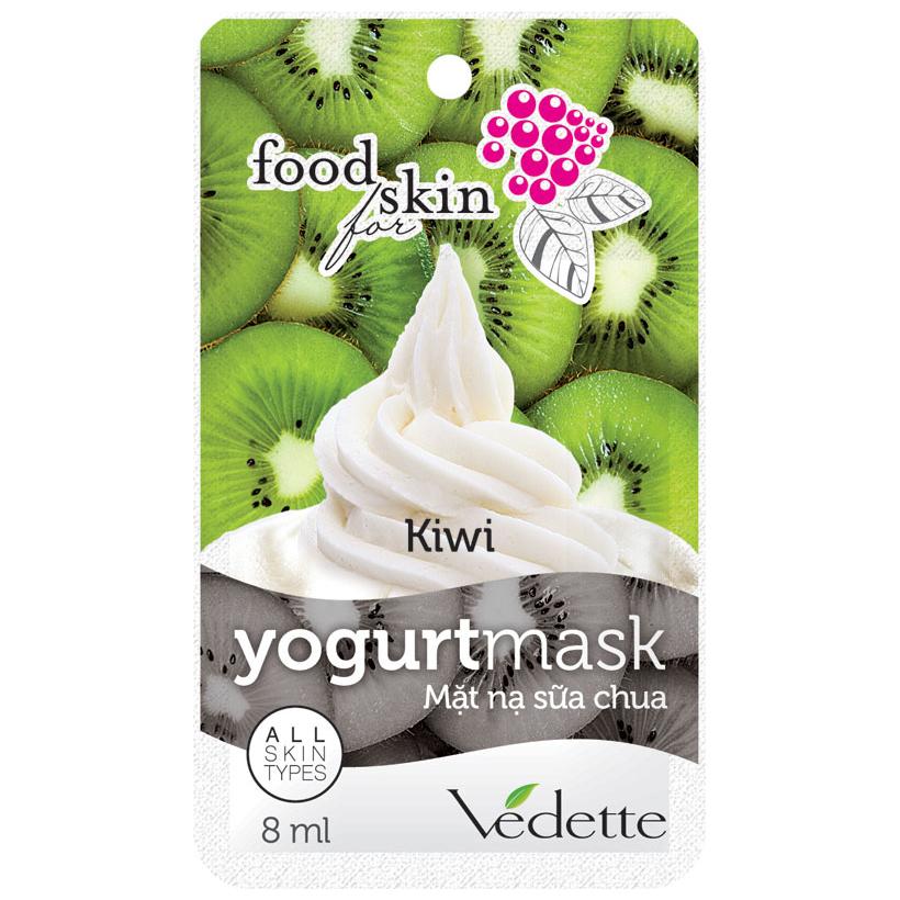 Mặt Nạ Sữa Chua Vedette Kiwi 8ml
