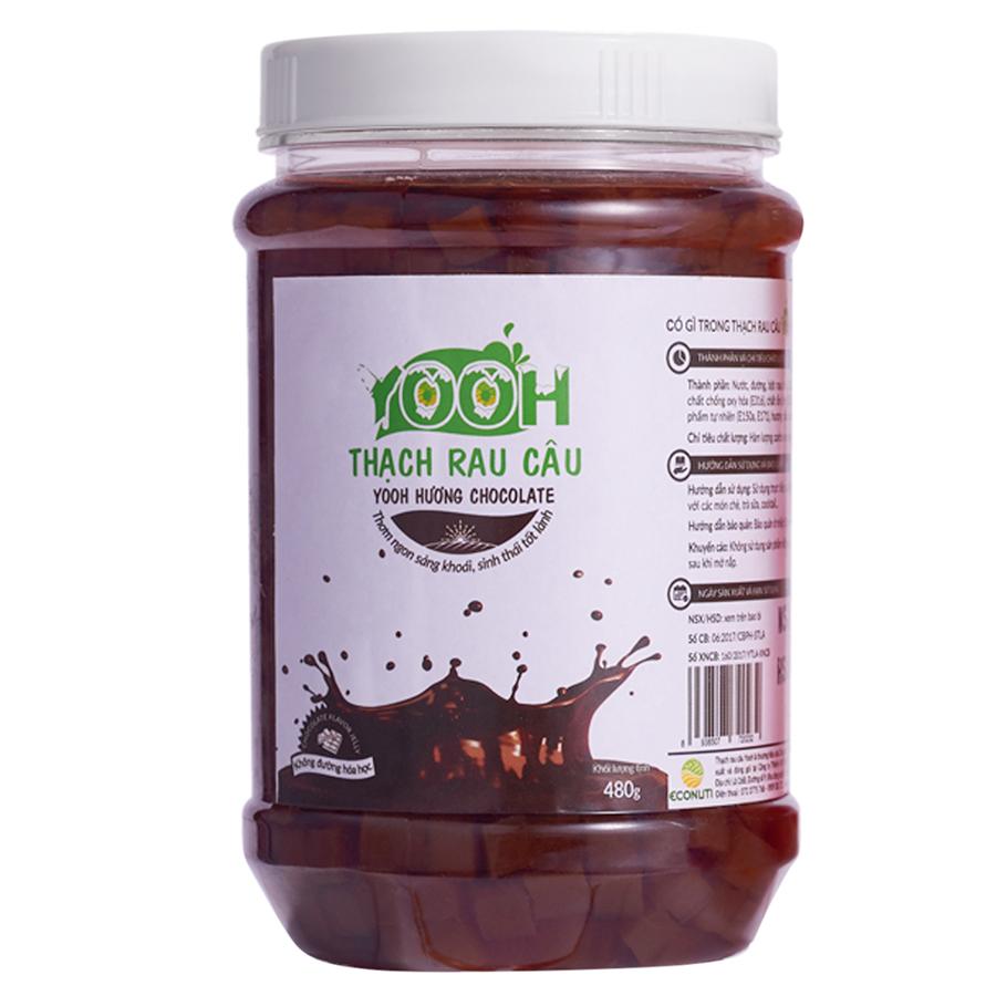 Thạch rau câu trà sữa YOOH - Vị Sô cô la 480g