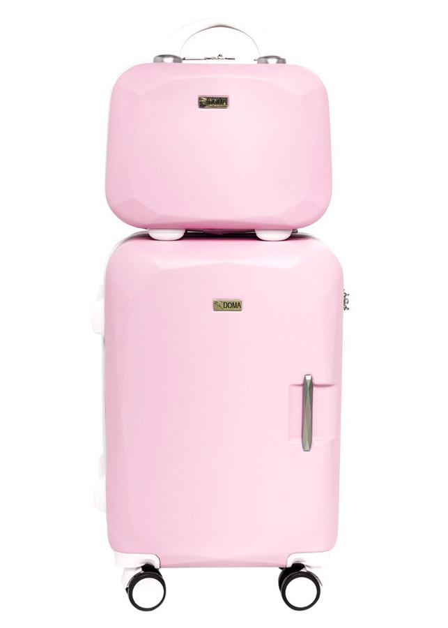 Vali Nhựa Cao Cấp Doma DH814 - Light Pink