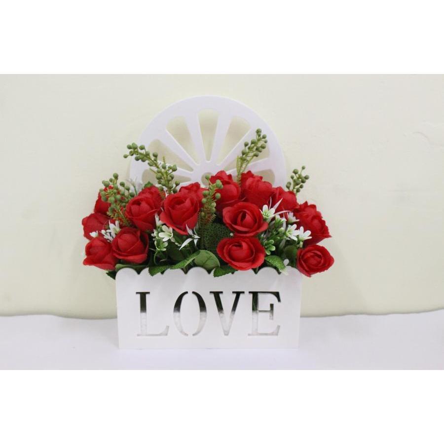 Giỏ hoa  trang trí tiện lợi Love House Decor GHS 6202