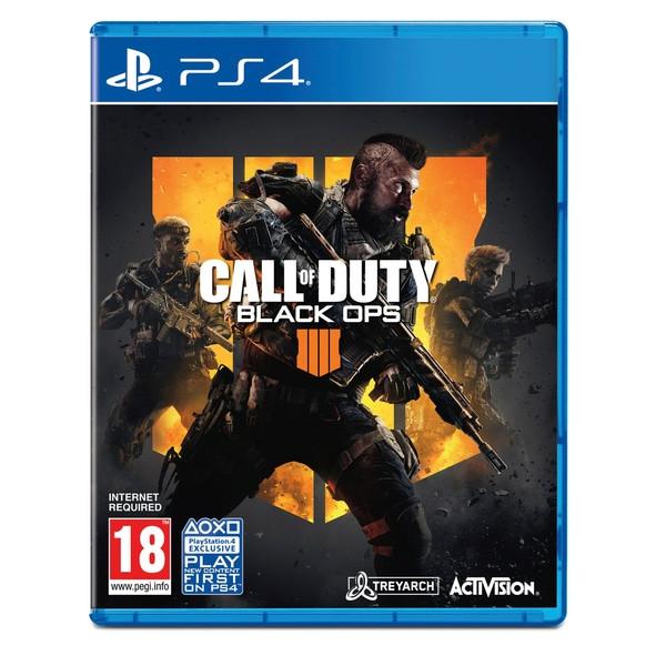 Đĩa  Ps4 Game call of duty black ops 4 hệ asia