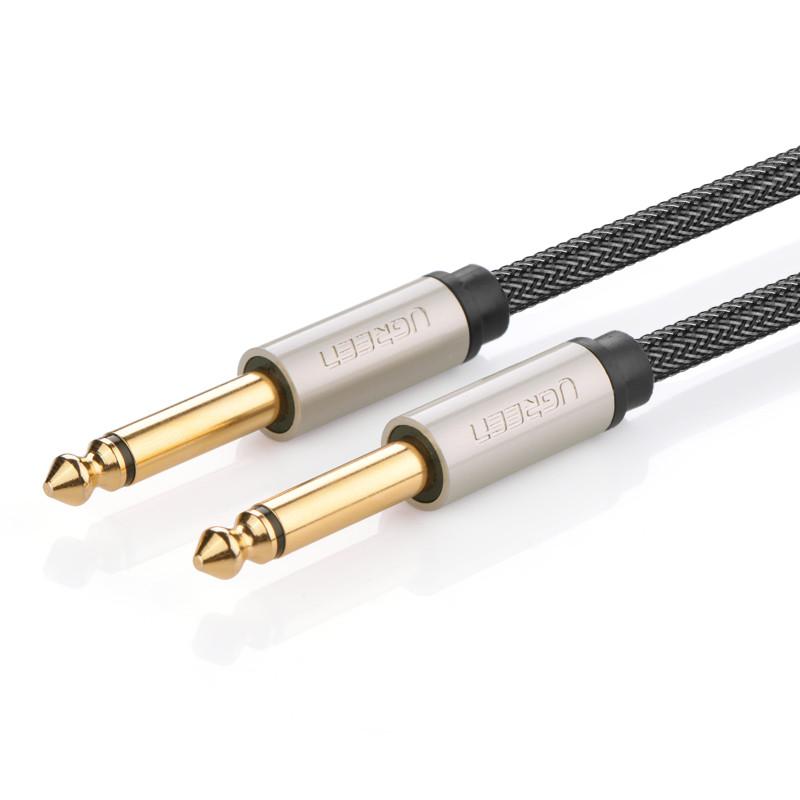 Dây âm thanh 6.5mm mạ vàng dài 1.5M UGREEN AV128 10637 - Hãng phân phối chính thức.