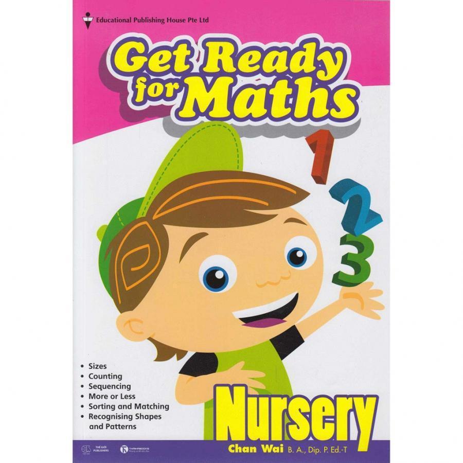 Bộ Sách giáo khoa Toán Singapore lớp mẫu giáo - Get Ready for Maths - Nursery