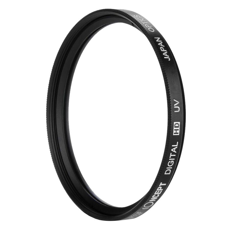 Kính Lọc KF Concept Filter Slim UV Digital HD - Japan Optic - Size 52mm (Đen) - Hàng Nhập Khẩu