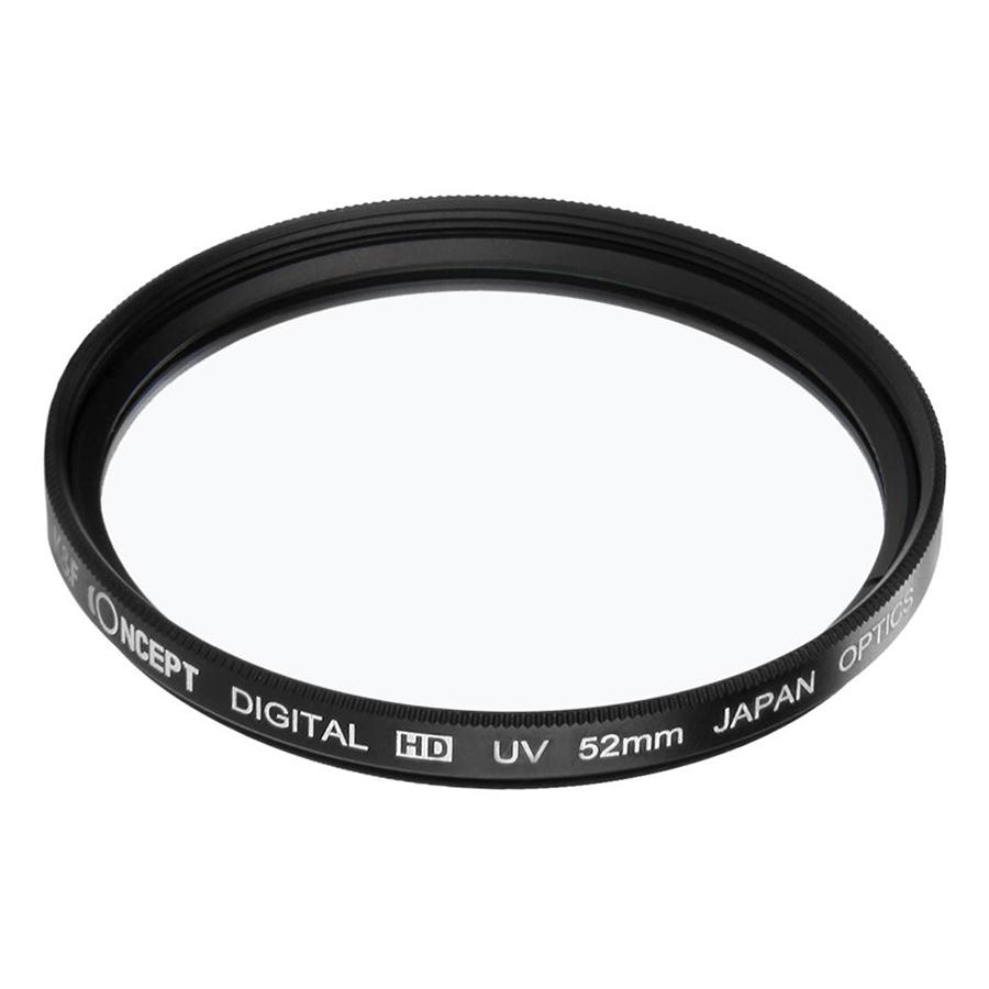 Kính Lọc Concept Filter UV Digital HD - Japan Optic (Size 52mm) - Hàng Nhập Khẩu