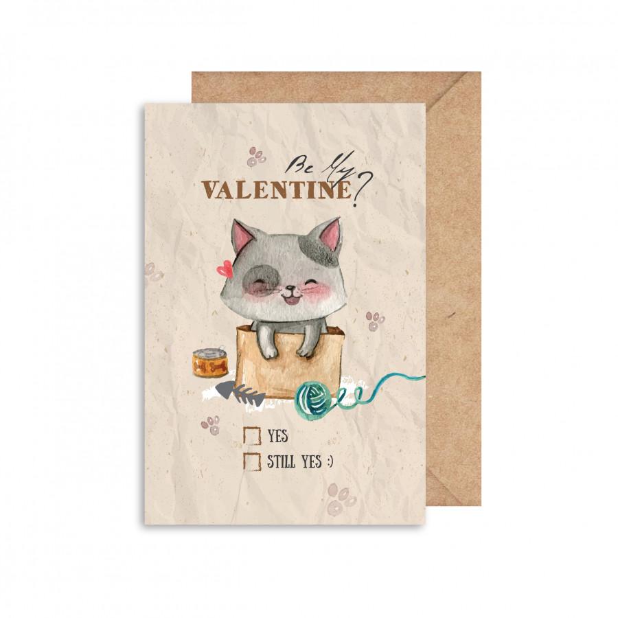 Thiệp Valentine mẫu 2 GC001100035