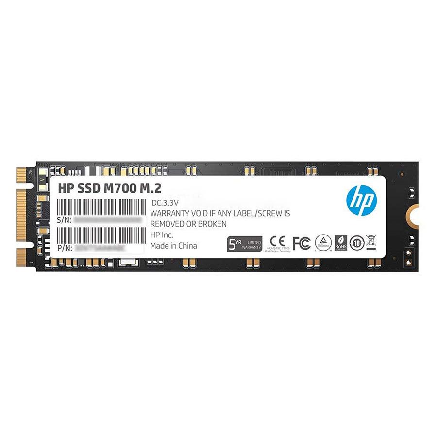 Ổ Cứng SSD HP S700 M.2 2280 (256GB) - Hàng Nhập Khẩu