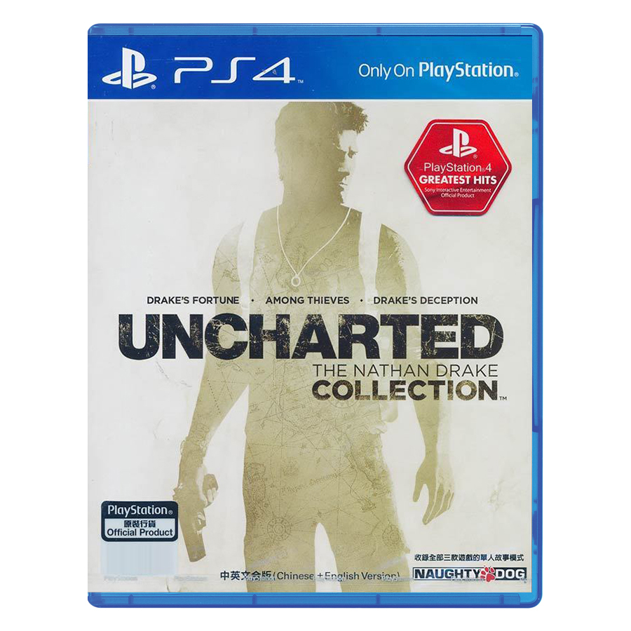 Đĩa Game PlayStation PS4 Sony Uncharted: The Nathan Drake Hệ Asia