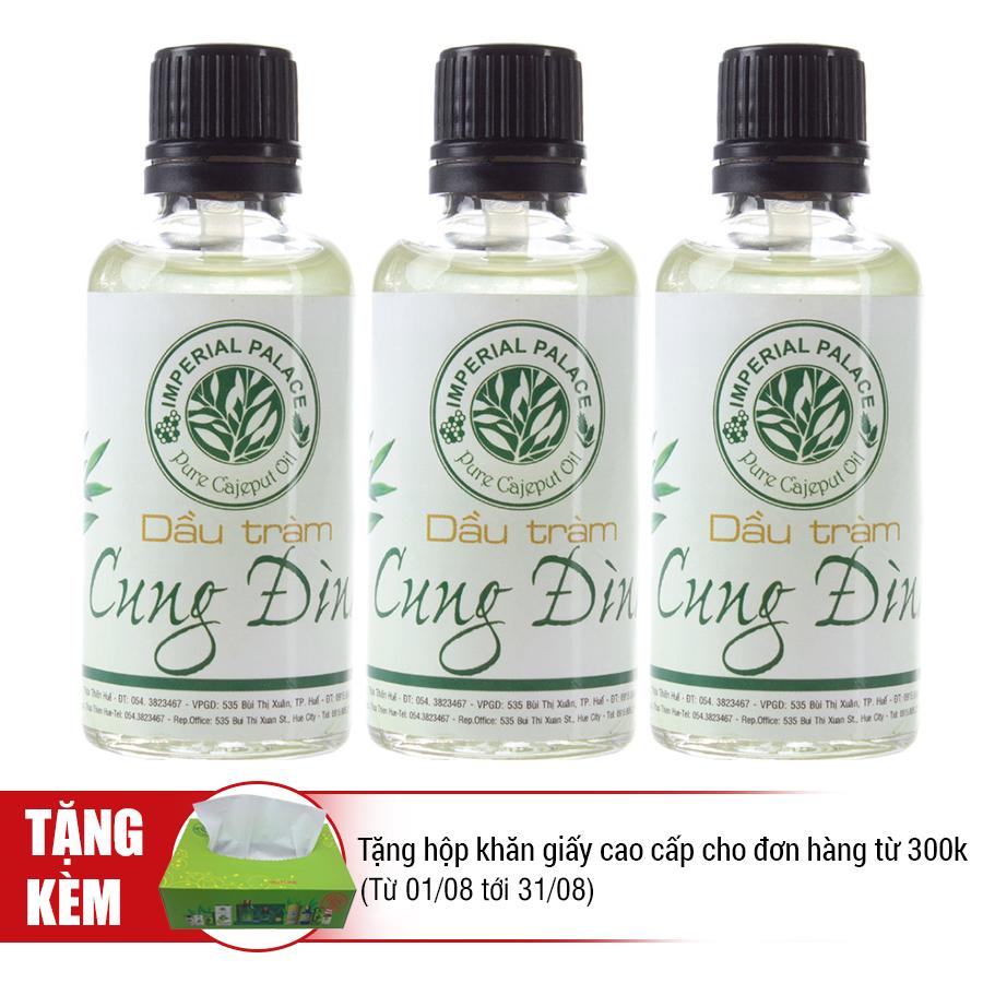 Combo 3 Chai Dầu Tràm Cung Đình (50ml)