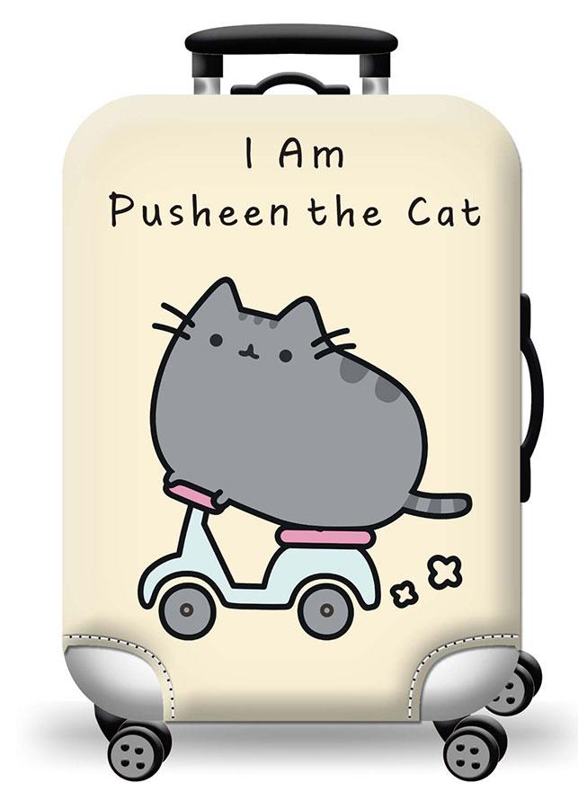 Túi bọc bảo vệ vali ZOOYOO Mèo và xe đạp