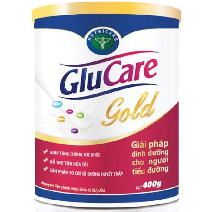 Sữa bột Nutricare Glucare Gold dinh dưỡng cho người tiểu đường (400g)