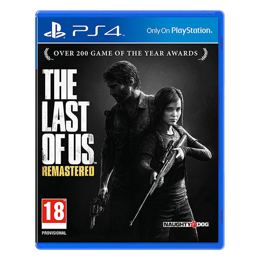 Đĩa Game PlayStation PS4 Sony The Last Of Us Remastered Hệ Asia