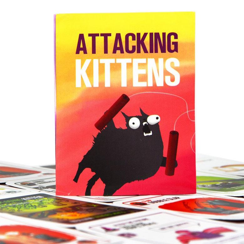 Boardgame Bài Mèo Nổ Mở Rộng 2 - Attacking Expansion