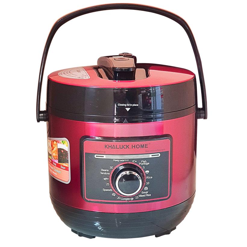 Nồi áp suất đa năng inox 304 dung tích 6 lit Khaluck.Home KL-708