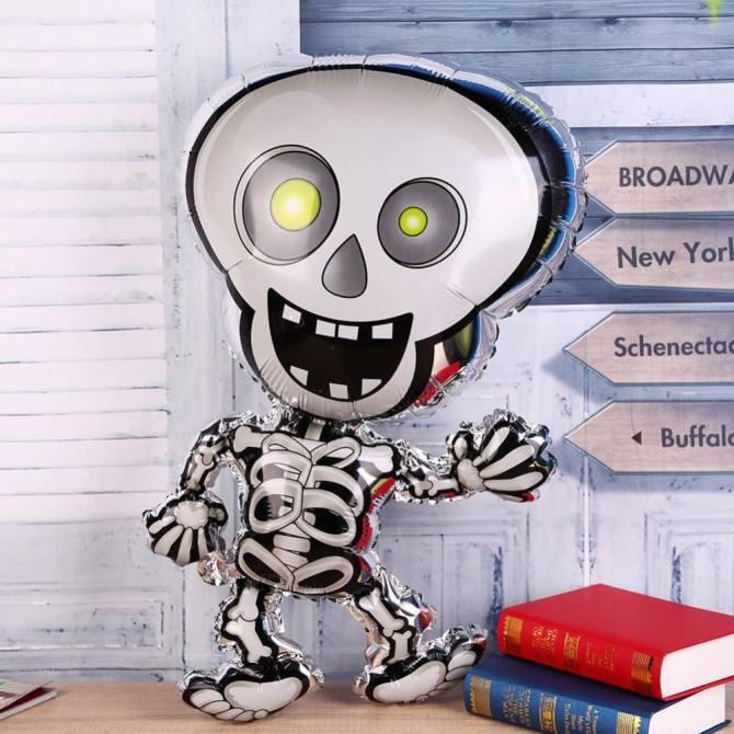 Bóng ma xương ngộ nghĩnh cỡ lớn trang trí Halloween