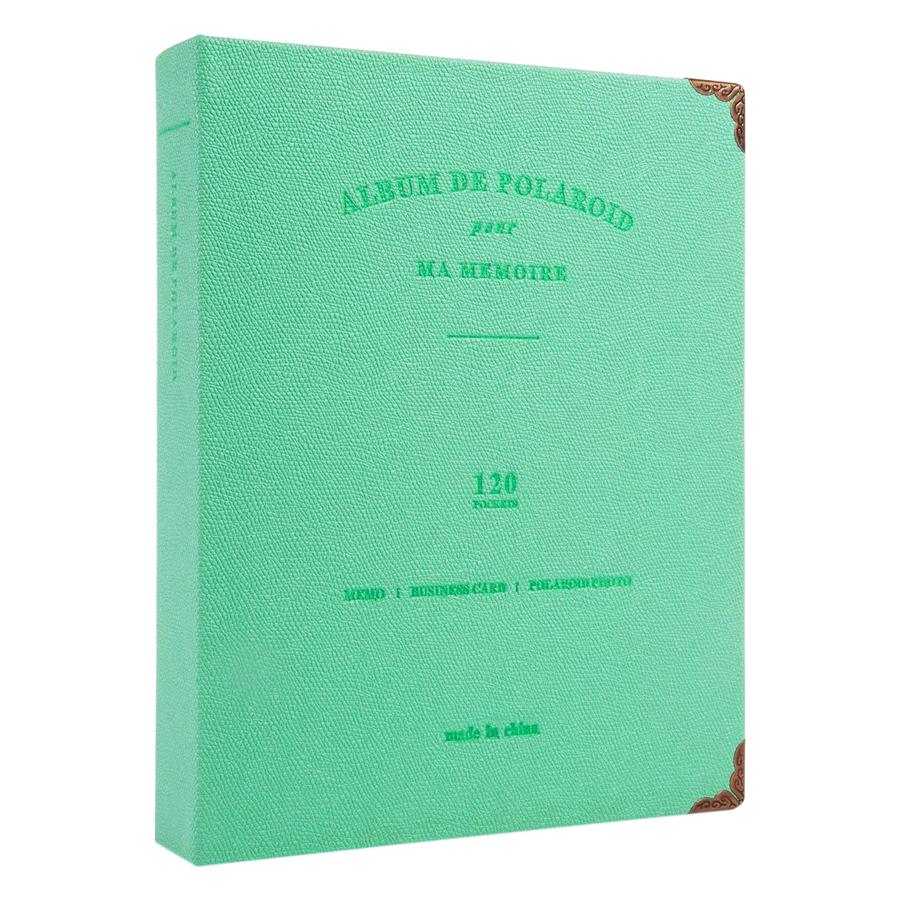 Album Đựng Ảnh De Polaroid (Lime) - Hàng Nhập Khẩu