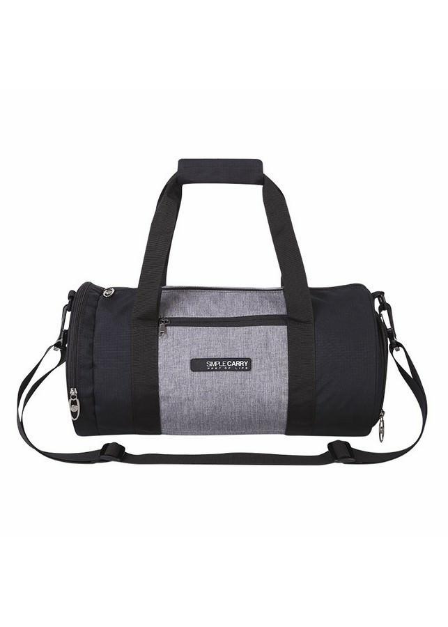 Túi Trống Simplecarry Gym Bag (23 x 42cm) - Black/Grey