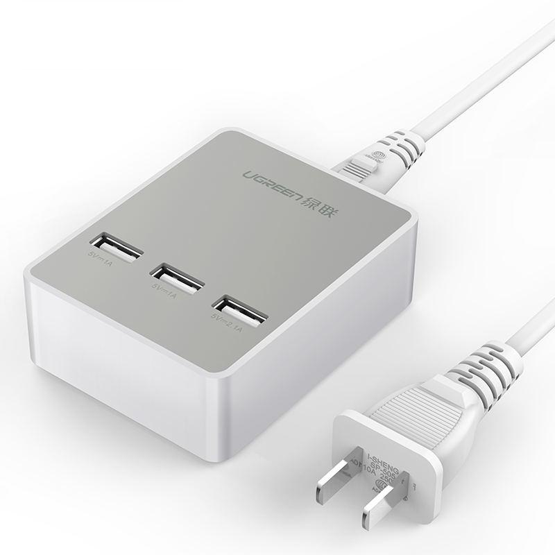 Bộ sạc để bàn 3 cổng USB 20W max UGREEN CD101 20360 - Hãng phân phối chính thức