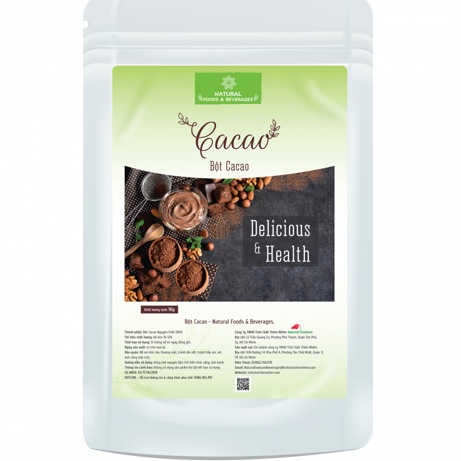 Bột cacao - Natural Foods  Beverages