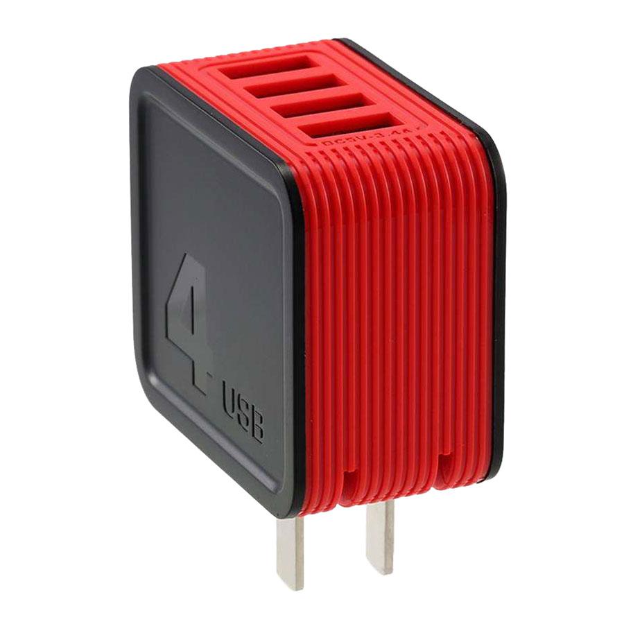 Adapter Sạc 4 Cổng USB 3.4A Remax RP-U40