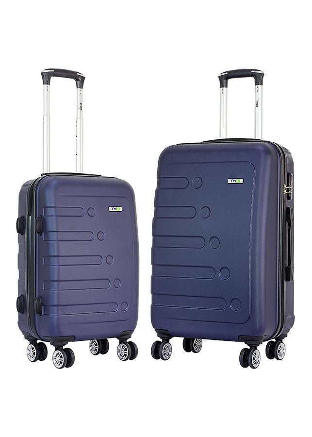 Set 2 Vali TRIP P16 Size 50 + 60 cm (20 + 24 inch) - Xanh Đen