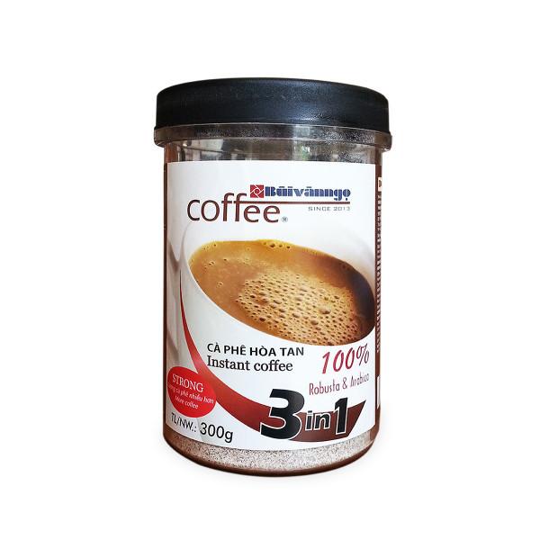 Cà phê hòa tan 3in1 Strong 300gram - Bùi Văn Ngọ Coffee