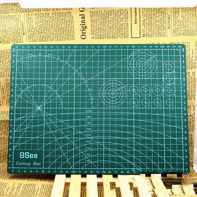 Tấm lót cắt giấy Cutting mat khổ A3 - Thớt cắt giấy Kirigami
