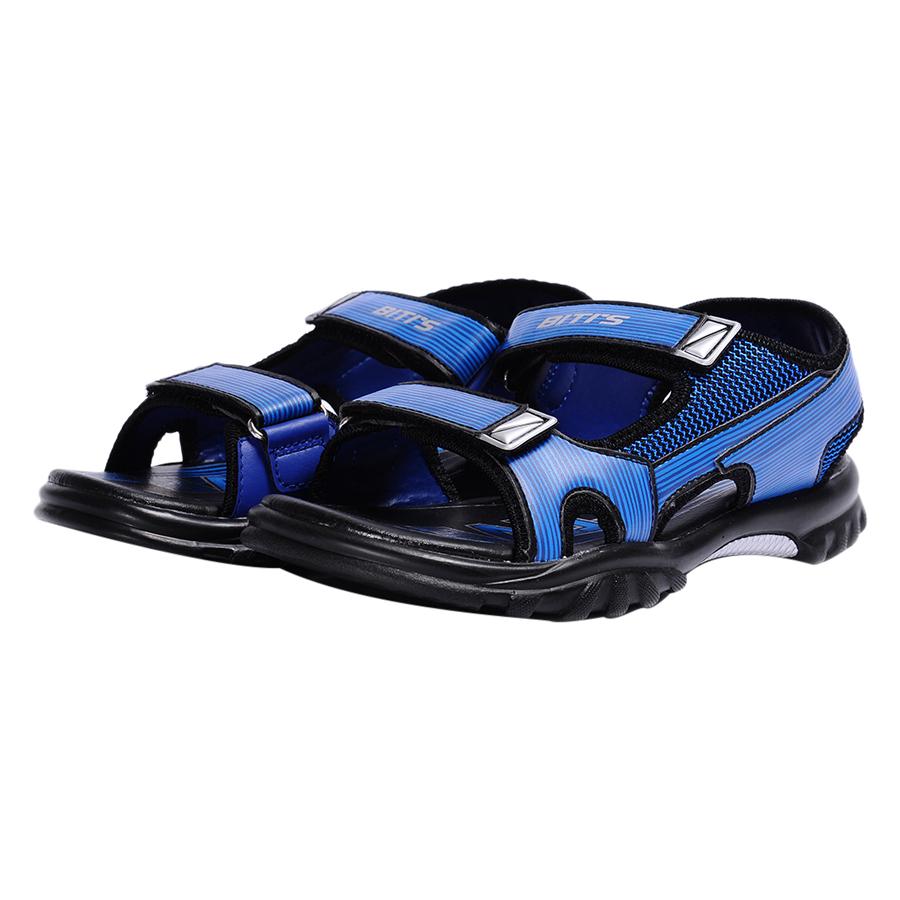 Giày Sandal Si - PU Bé Trai Biti's DPB054800XNH - Xanh Nhớt