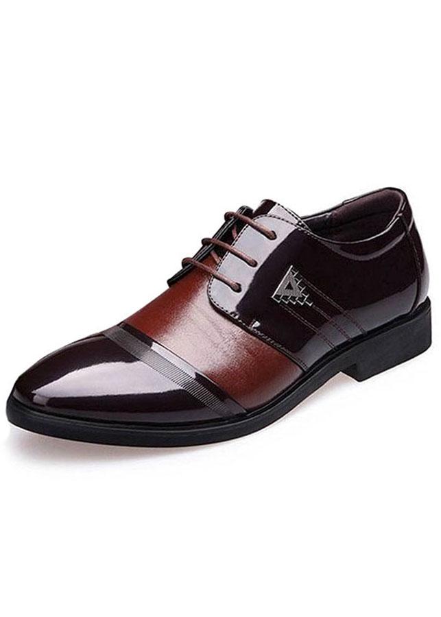 Giày tây da nam đế cao Rozalo ZMG8523