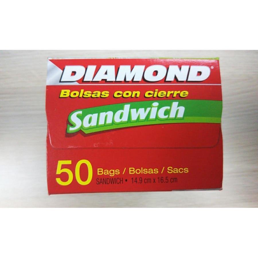 Túi đựng thực phẩm Diamond size sandwich
