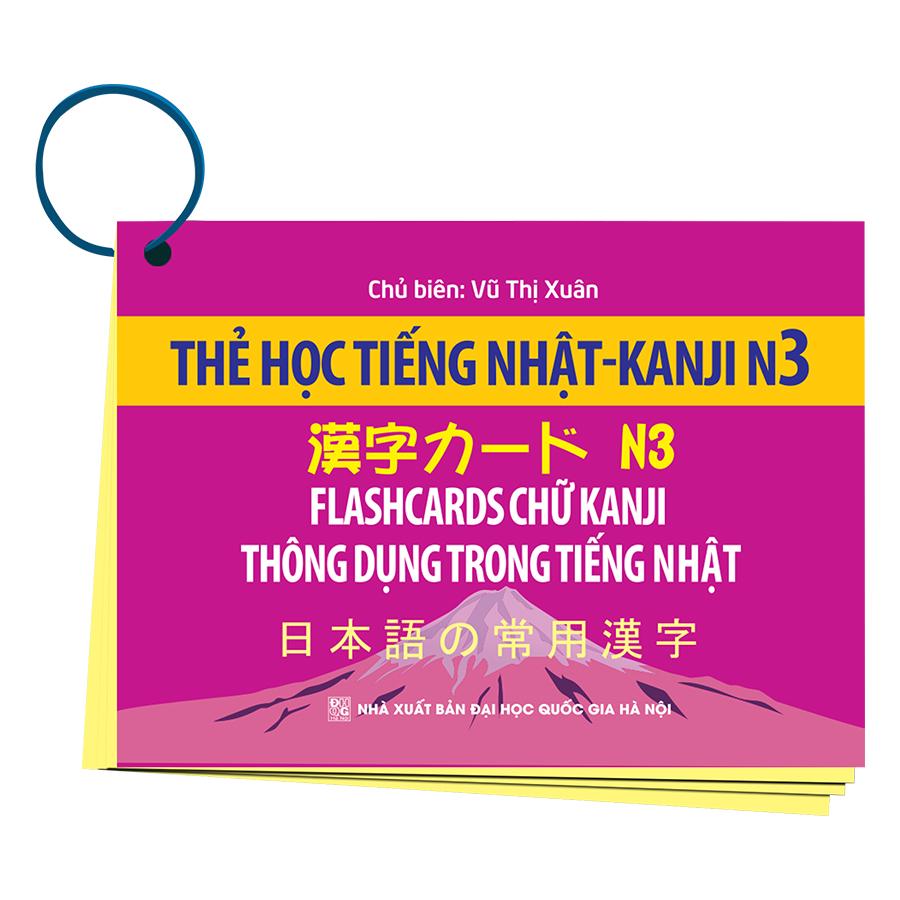 Thẻ Học Tiếng Nhật KANJI - N3