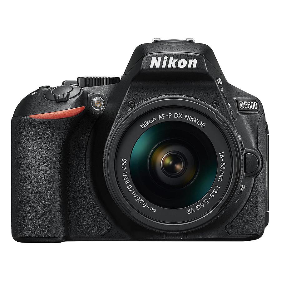 Máy Ảnh Nikon D5600 Kit AF-P 18 - 55mm VR (24 MP) (Hàng Chính Hãng) - Tặng Thẻ 16G + Túi Máy + Tấm Dán LCD