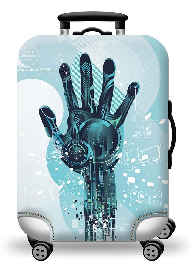 Túi bọc bảo vệ vali -Áo vỏ bọc vali - Hand Digital