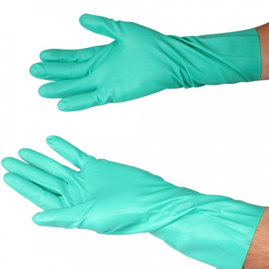 Găng tay cao su tự nhiên 100% Nutrile NF1513 chống hóa chất và siêu bền