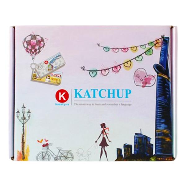Combo Trọn Bộ KatchUp Flashcard 3000 Từ Tiếng Anh - Best Quality
