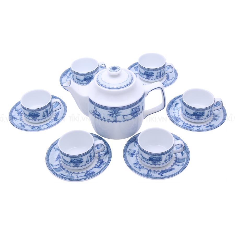 Bộ Trà Jasmine Minh Long 01071117903 (0.7L) - Thôn Dã