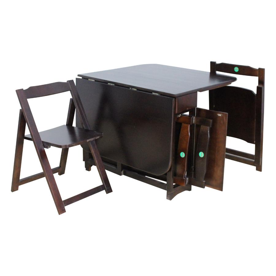 Bộ Bàn Ghế Xếp Gấp Thông Minh Tokyo 6868 Lộc Lâm Furniture 33A15 (135 x 90 x 70 cm)