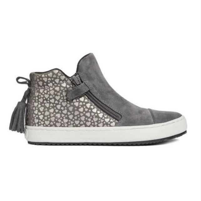 Giày Sneakers Bé Gái J Kalispera G. C Geox - Dark Grey