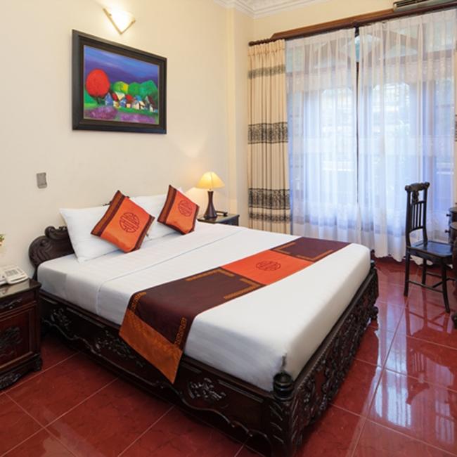 Voucher Khách sạn Lucky 1 Hà Nội tiêu chuẩn 3* cạnh hồ Hoàng Kiếm