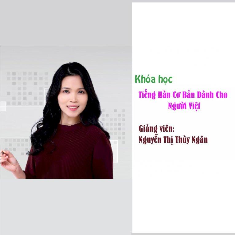 KYNA - Khóa Học Tiếng Hàn Cơ Bản Dành Cho Người Việt