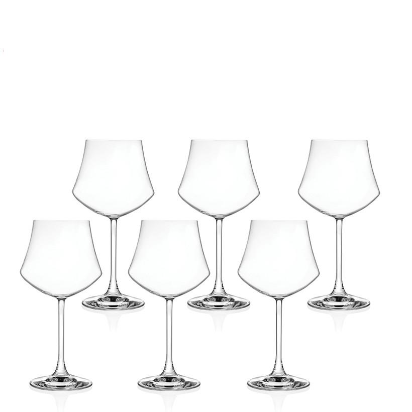Ly rượu vang pha lê RCR Crystal Ego 320ml (bộ 6)