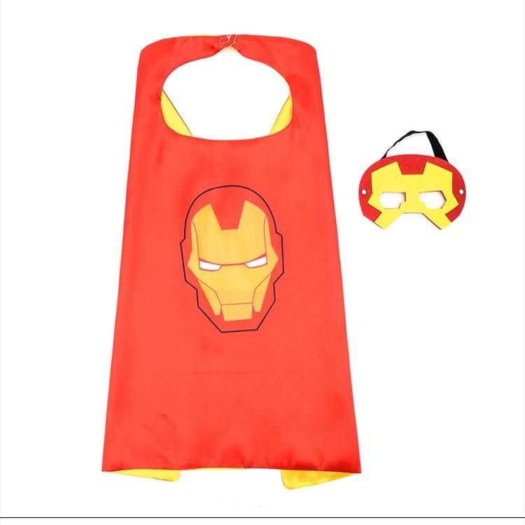 Choàng và mặt nạ siêu anh hùng Người Sắt (Ironman)