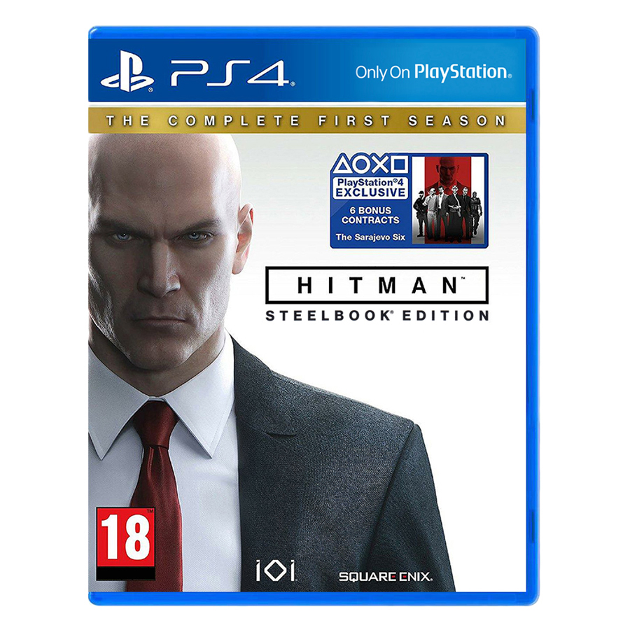 Đĩa Game PlayStation PS4 Sony Hitman The Complete First Season