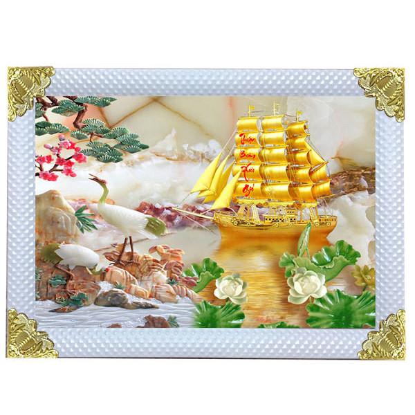 Tranh Thuận Buồm Xuôi Gió (60 x 80cm)