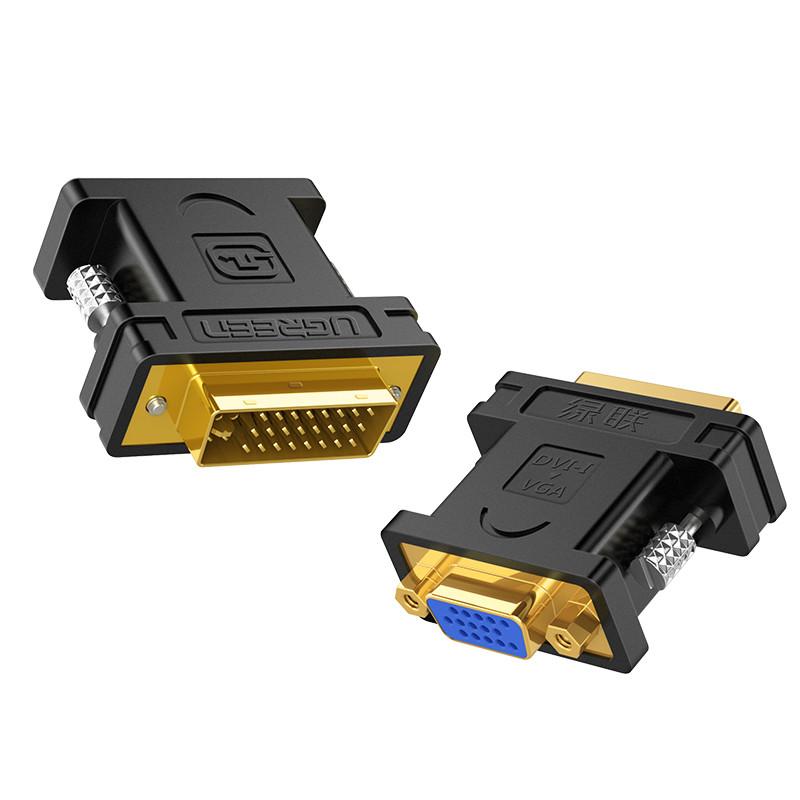 Đầu chuyển đổi DVI 24+5 đực sang VGA (15 chân) cái UGREEN 20122 - Hãng phân phối chính thức